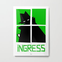 Ingress (Enlightenment) Metal Print
