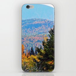 From Hills to Mountains iPhone Skin