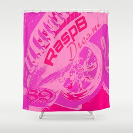 RaspB Dream Shower Curtain