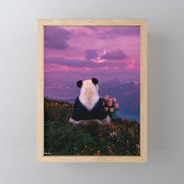 it will end in tears. Framed Mini Art Print