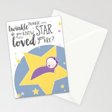 Do you know how loved you are? Stationery Cards
