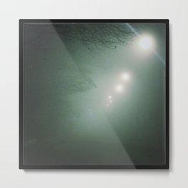 Nella nebbia Metal Print