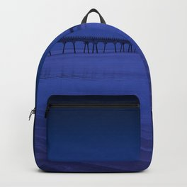 Pier photography night Backpack