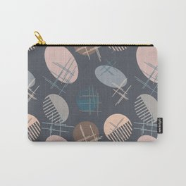Comb and hand-mirror abstract with dark background Carry-All Pouch