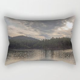 Afternoon on Lake Pactola Rectangular Pillow