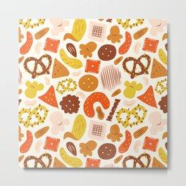 Snacks Metal Print