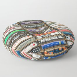 Tapes n Tapes Floor Pillow