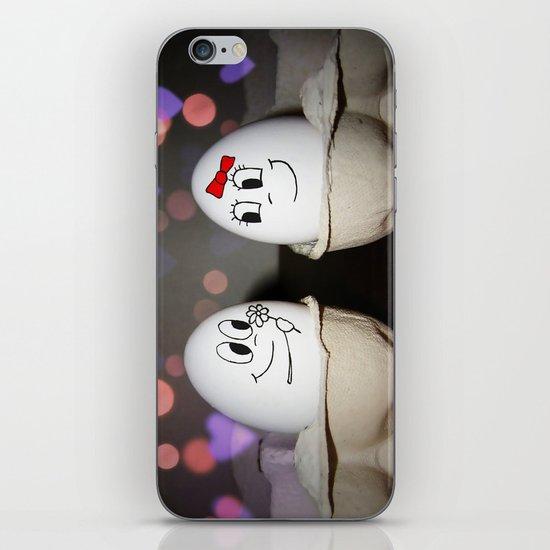 Egg Love iPhone & iPod Skin