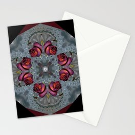 Mothers Rose Stationery Cards