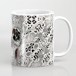 Lace Skull Light Coffee Mug