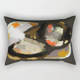 Burnt Toast with Sardines Rectangular Pillow