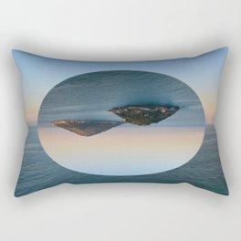 Slice of Island Rectangular Pillow