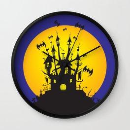 Halloween party Wall Clock