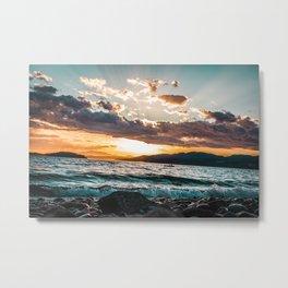 Sechelt Sunset Metal Print