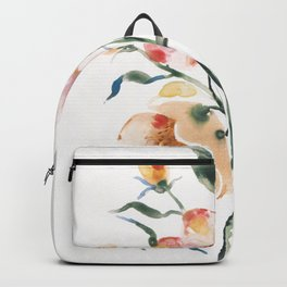 Loose Floral on Yupo Backpack