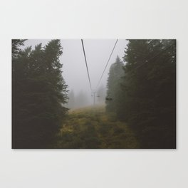 This Way Up Canvas Print