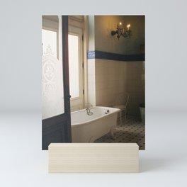 Bathtub with a View, Chapultepec Castle, CDMX 35mm Film Mini Art Print