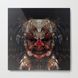 Fuerza Negra Metal Print