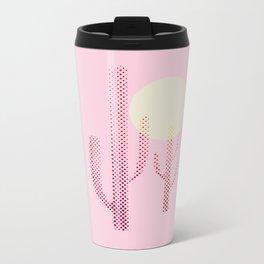 Pink Desert Metal Travel Mug