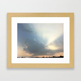 Jesus Are You There?  II Framed Art Print