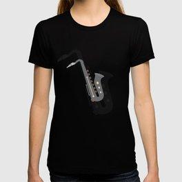 Saxophone Musical Instrument T-shirt
