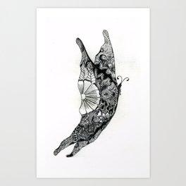 Henna Design 13 Art Print