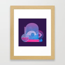 Acts of Witchery Framed Art Print