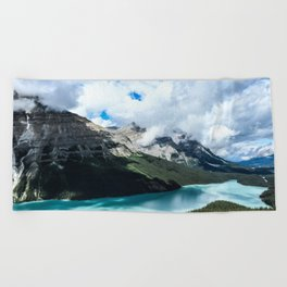 Peyto Lake Beach Towel