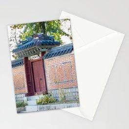 Amisan Gate & Wall, Gyeongbokgung Palace, Seoul Stationery Cards