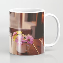 Flowers in the street Coffee Mug