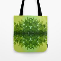 leaf Tote Bags featuring Leaf by Cs025