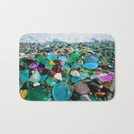 Kauai's Glass Beach, Hawaiian Portrait Bath Mat
