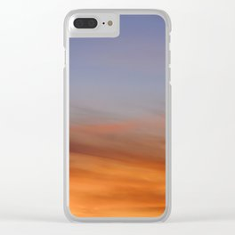 Dreamclouds Clear iPhone Case