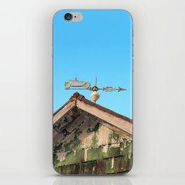 Wind vane iPhone Skin