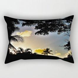 Sillouette Sky Rectangular Pillow