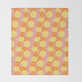 Citrus State of Mind Throw Blanket