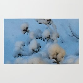 Snow Blossoms Rug