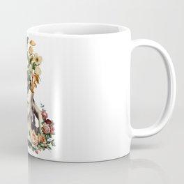 Bloom Floral and Mashroom Face Coffee Mug
