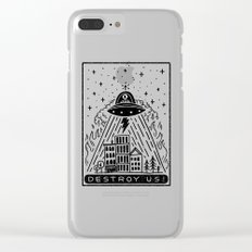 destroy us! Clear iPhone Case
