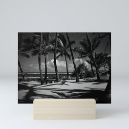 Kuau Beach Palm Trees Paia Maui Hawaii Mini Art Print