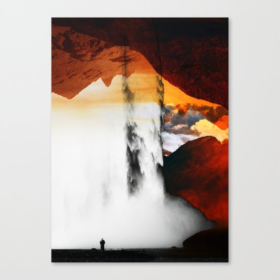 Isolation Waterfall Canvas Print