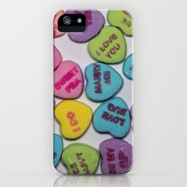 Sweethearts iPhone Case