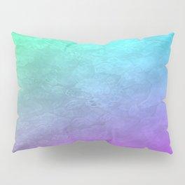 Aqua Sunset Pillow Sham