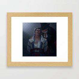 A Different End Framed Art Print