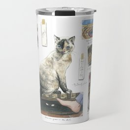 How to Live with a Cat Travel Mug