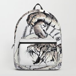 Wheat Tiger Chimera Backpack