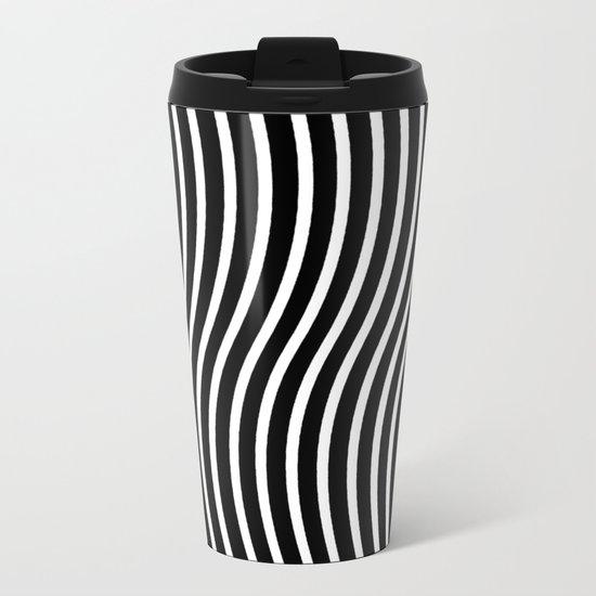 Bent Out Of Shape Metal Travel Mug