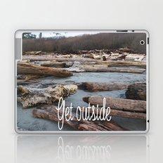 Get Outside in the UpperLeftUSA Laptop & iPad Skin