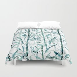 Bamboo.  #decor #art # society6 Duvet Cover