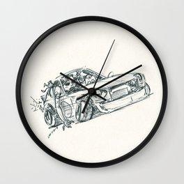 Crazy Car Art 0129 Wall Clock